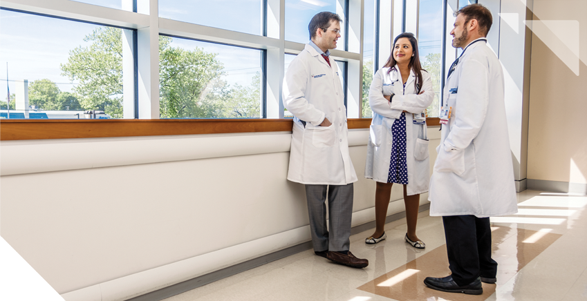 A round-the-clock team of specialists for hospitalized patients