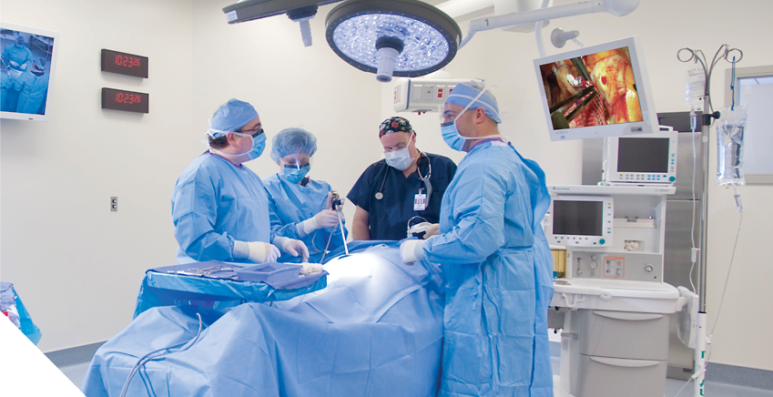 Surgeon-designed for enhanced safety and technology